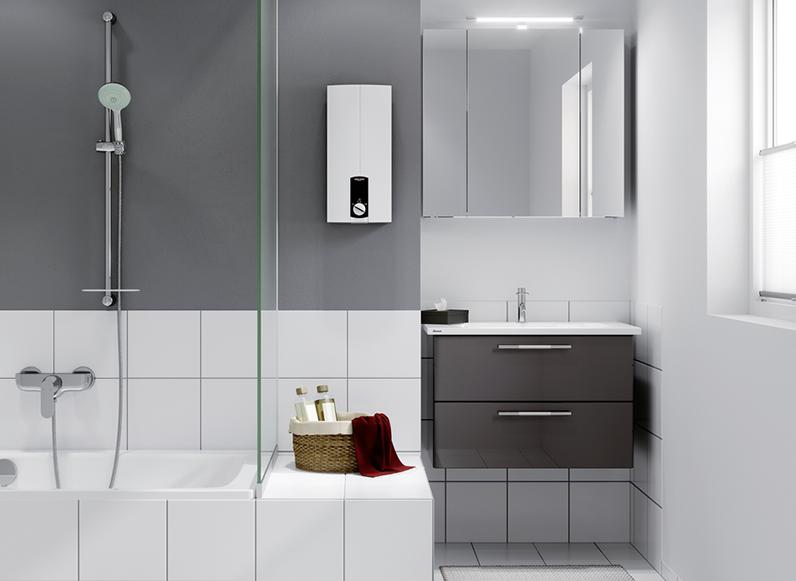 dhb 21 st komfort durchlauferhitzer von stiebel eltron. Black Bedroom Furniture Sets. Home Design Ideas