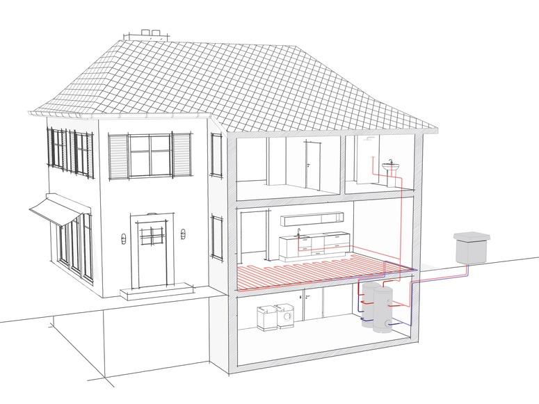 wpl 33 ht luft wasser w rmepumpen von stiebel eltron. Black Bedroom Furniture Sets. Home Design Ideas